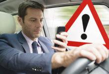 Sancţionarea folosirii telefoanelor mobile la volan