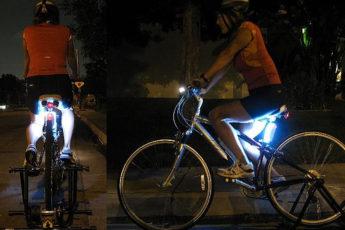 Semnalizarea reflectorizantă laterală a bicicletelor